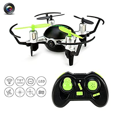 Kingtoys Drones with Camera Headless High Hold Mode JJRC H30CH 2.4G 4CH 6Axis LED Colorful Lights Drone One key to return Mini RC Quadcopter by Kingtoys