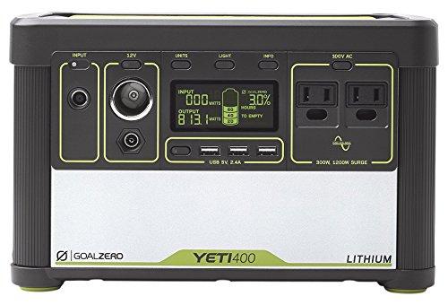 無料配達 Goal Portable Zero 38008 Yeti Lithium 400 (100V) Portable (100V) Power Station ポータブル電源 BT170 38008 B01IQXDTFA LIGHTHOUSE micro LIGHTHOUSE micro|LEDランタン, マッキー:0b78d76d --- arianechie.dominiotemporario.com