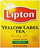 Lipton Yellow Label Orange Pekoe Loose Tea, 15.8. OZ (Pack of 6)