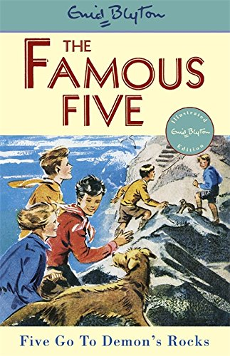 Book cover for Five Go to Demon's Rocks
