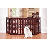 Elegant Home Fashions Agatha 4-panel 36-inch Pet Gate
