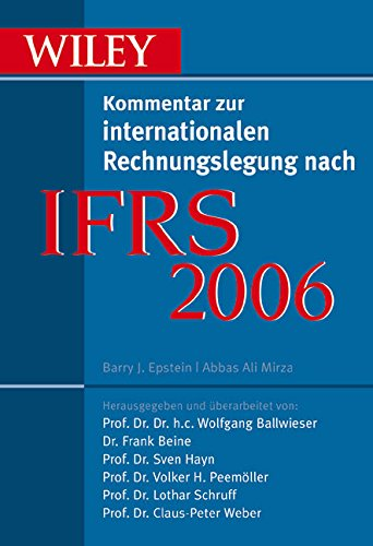 Ifrs 2006 (German Edition) by Wiley-VCH