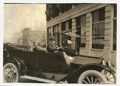HistoricalFindings Photo: Young Chauffeur,Tulsa,Oklahoma,Child Labor,Lewis Wickes Hine,March 1917