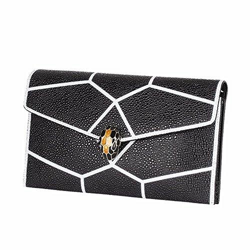 main 2018 de Black la black sac sacoche mosaïque à cuir en dîner le wqxpU8IC