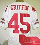 Archie Griffin Signed Jersey - White - Autographed College Jerseys