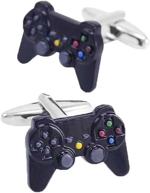 Fengteng PS3 PS4 Diversión Negro Mango Consola de Juegos Gemelos: Amazon.es: Joyería