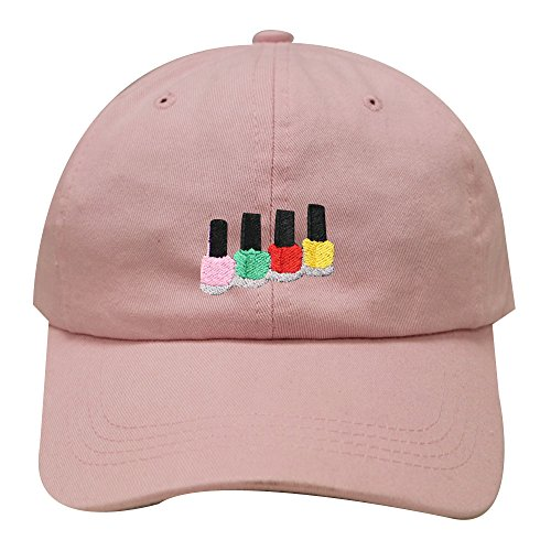 City Color Nail Polish - City Hunter C104 Nail Polish Cotton Baseball Dad Cap 19 Colors (Pink)