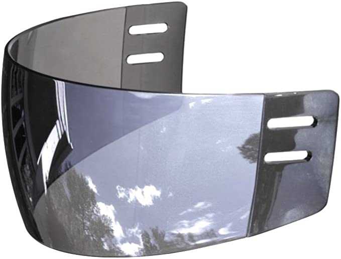 Ronin R3M Mirror Straight-Cut Hockey Visor (Anti-Scratch/Anti-Fog)