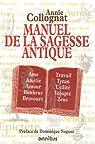 Manuel de la sagesse antique par Colognat-Barès