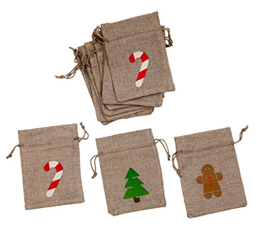 Christmas Treat Bags 12 Pack - 4