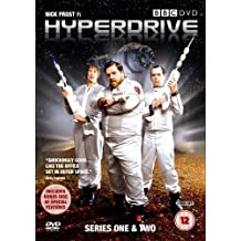 Hyperdrive Series One & Two with Nick Frost. 3-dvd Set.
