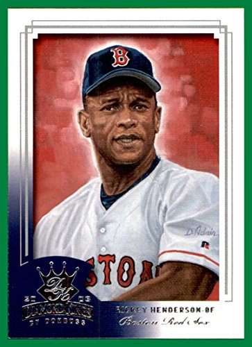 2003 Diamond Kings #14 Rickey Henderson HOF BOSTON RED SOX