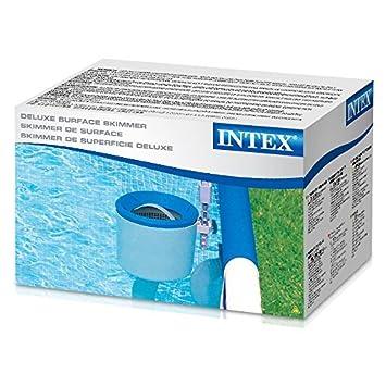 Legnagoferr Intex 28000 Skimmer Deluxe - Limpiador automático para bomba de filtro de piscina de exterior Terra Intex Bestway y similares con tubo Skimmer, ...