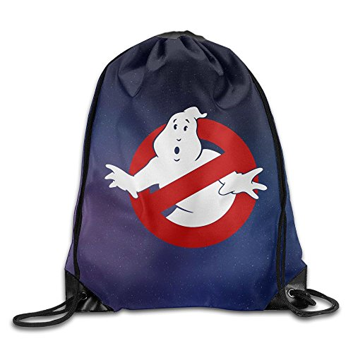 MissMr Ghost Busters Belt Sports Backpack,Fashion Trend, Polyester Sports Bag,Net Red Part,Men's Handbag,Ladies,Teenager,Adult,Outdoor Work,Office,Lunch Box ()