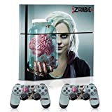 Controller Gear iZombie Brain Jar - PS4 Combo Skin Set for Console and Controller