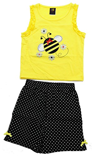 4009-12M Just Love Two Piece Girls Shorts Set