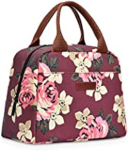 LOKASS Lunch Bag Cooler Bag Women Tote Bag Insulated Lunch Box Water-resistant Thermal Lunch Bag Soft Leak Pro