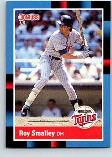 - Baseball MLB 1988 Donruss #566 Roy Smalley NM-MT Twins