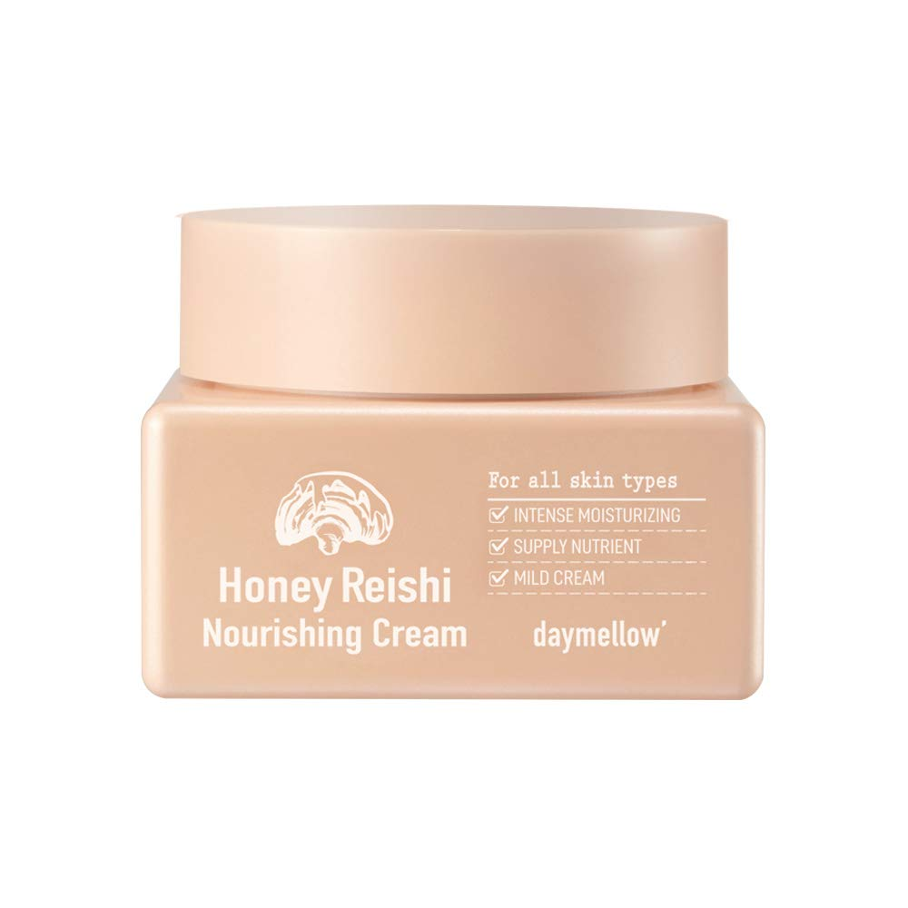 Daymellow honey reishi nourishing cream 50ml korean Moisture Cream,Moisture Cream,Day and Night Face Moisturizer,Korean Beauty,All in One Cream