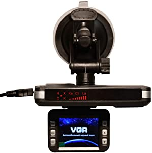 ZQQFR Dash Cam, Car DVR Speed Measuring Radar, Car Laser Radar DVR Camera, Driving Recorder with Loop Recording Motion Detection