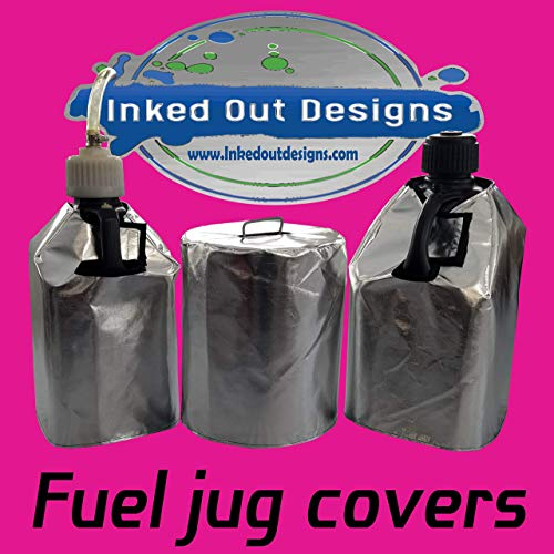 Price comparison product image Deluxe Motorsport Reflective Gas Can Cover (VP Style 5 gal Fuel Jug)