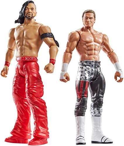 Action Figure Two Pack - WWE Shinsuke Nakamura Vs Dolph Ziggler Action Figures, 2-pack