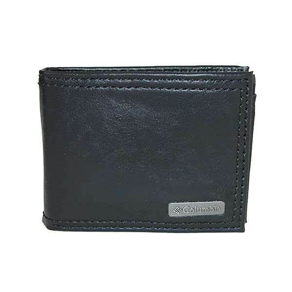 Columbia Men's RFID Security Blocking Extra-Capacity Slimfold Wallet