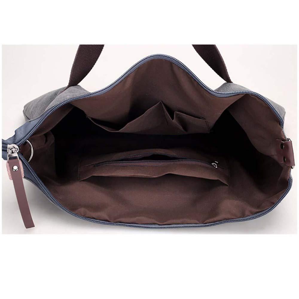 WWAVE Handtaschen Handtaschen Handtaschen für Damen Canvas Frauen Tasche Reine Farbe Frauen Freizeit schrägen Handtasche tragbar Abriebfest Mode Tasche B07GVKN9B4 Henkeltaschen Verrückter Preis, Birmingham 008407