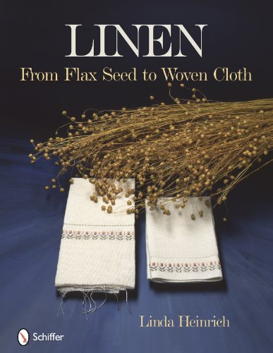 Linen from flax seed to woven cloth