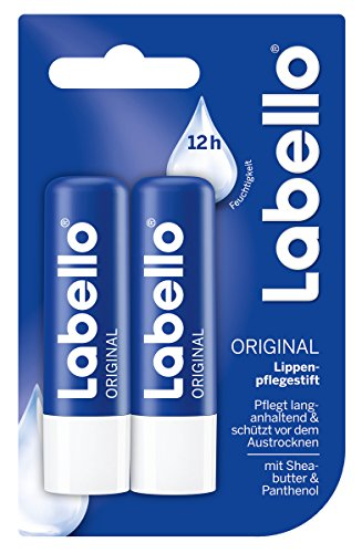 Labello Lippenpflege Basispflege ORIGINAL Doppelpack (2 Stück)