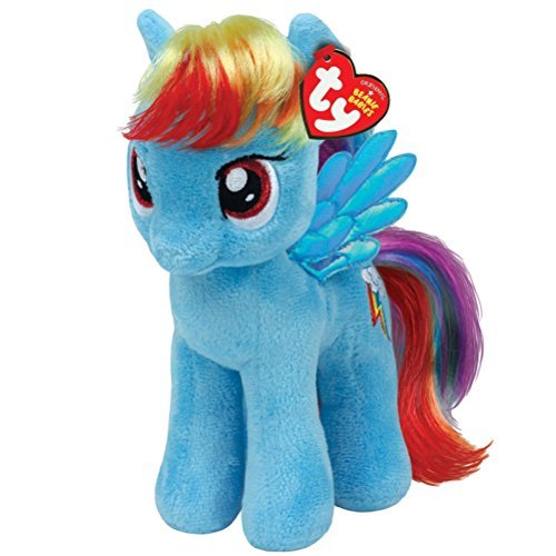 TY The Beanie Babies plush My little Pony Rainbow Dash 17 cm]()