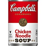 Campbell's Condensed Chicken Noodle Soup, 10.75 oz. Cans (Pack of 6)
