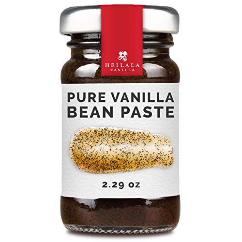Heilala Vanilla Pure Bean Paste (2.29 oz) With Hand-picked Vanilla Pod Seeds, All Natural Ingredients, Superior to Tahitian or Madagascar Paste (Vanilla Bean Pods)