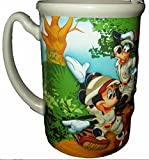 Disney Animal Kingdom Mickey Mouse & Goofy Coffee Cup Mug