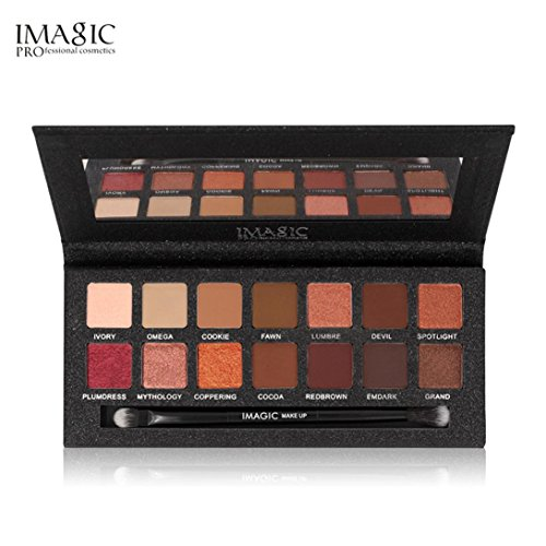 Best Pro Eyeshadow Palette Matte - 14 Highly Pigmented Makeu
