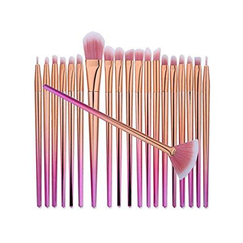 Kasla 20 Pieces Makeup Brush Set Professional Face Eye Shado