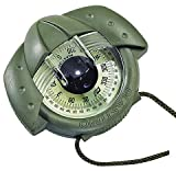 NAUTOS IRIS 50 – HAND BEARING COMPASS - BY PLASTIMO (ARMY GREEN)