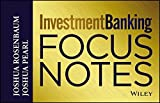img - for Investment Banking: Focus Notes (Wiley Finance) by Joshua Rosenbaum (2013-08-13) book / textbook / text book
