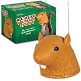Big Head Squirrel Feeder Novelty Giant Outdoor Hanging Gag Gift Funny Yard Decor ;from#knockoutnovelties; TRYK17282062515562