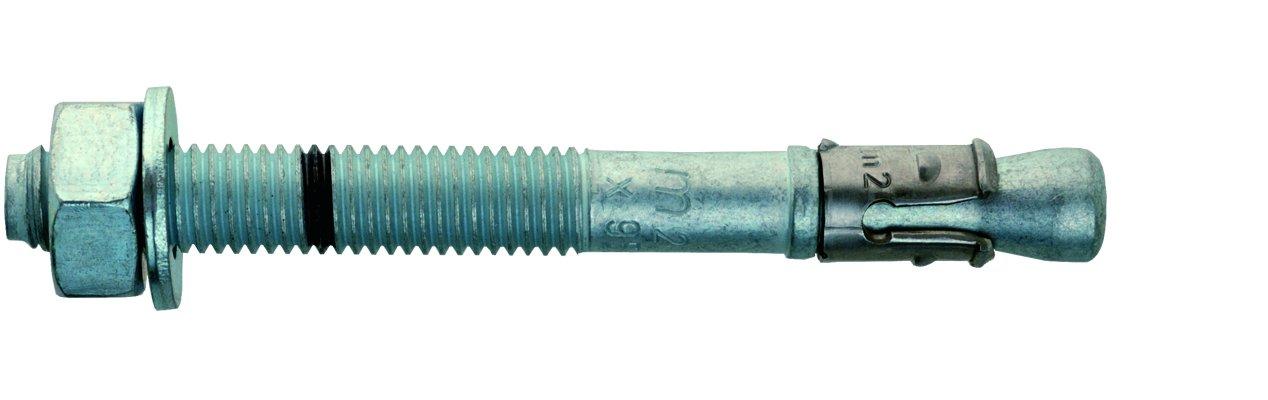 10 x 110 mm 50 St/ücke Mungo m2 Stahlbolzen mit U-Scheibe DIN 125 A 3201011