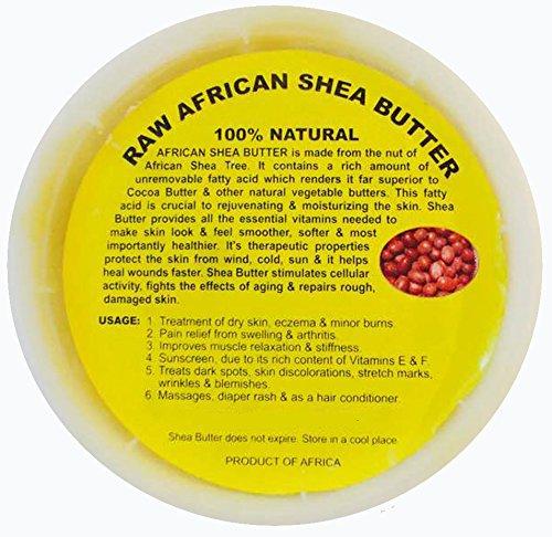 African Shea Butter 100% Natural 16oz (100% Butter)