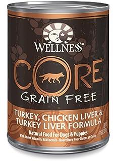 wellness core wet dog food