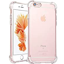 iPhone 6 Plus Case, iPhone 6s Plus Case,ibarbe Heavy Duty High Impact Resistant Hybrid Protective Heavy Duty Case For iPhone 6 Plus and iPhone 6s Plus (Clear)