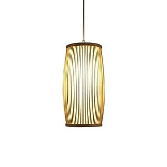 ooeoe Handgemachte chinos bambú Pasillo colgante Leuchten ...