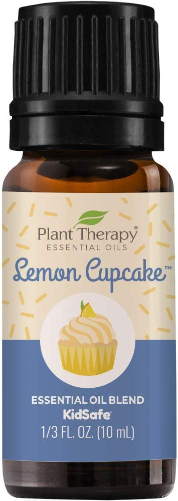 Plant Therapy Lemon Cupcake Essential Oil Blend 10 mL (1/3 oz) 100% Pure, Undiluted, Natural, Therapeutic Grade