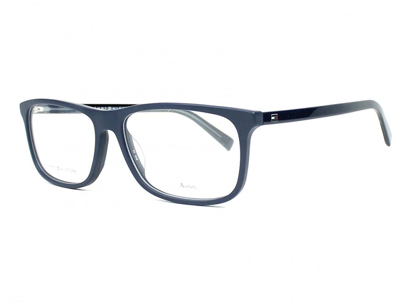 5db0547ebc5 Optical frame Tommy Hilfiger Acetate Blue (TH 1452 ACB) at Amazon Men s  Clothing store