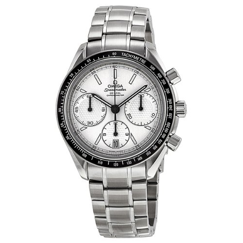 Omega Men's 32630405002001 Speed Master Analog Display Automatic Self Wind Silver Watch