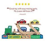 Melissa & Doug Car Carrier Truck & Cars Wooden