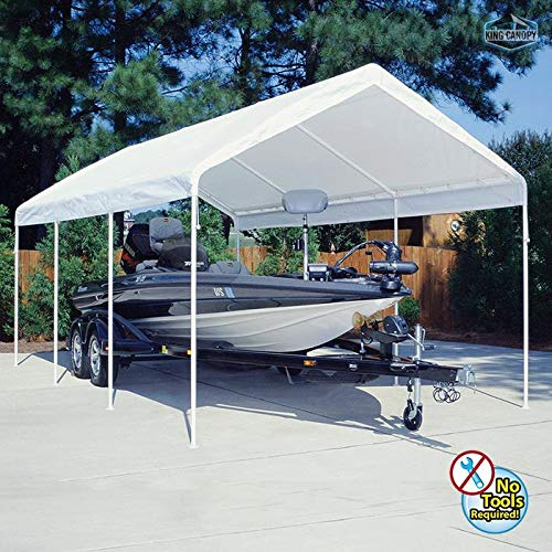 PIC Industries King Canopy Universal Canopy 12 Foot x 20 Foot ()