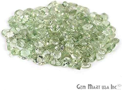 REAL-GEMS Jewelry Making Green Amethyst 70.00 Ct Amethyst Loose Gemstone Emerald Cut Green Amethyst Stone
